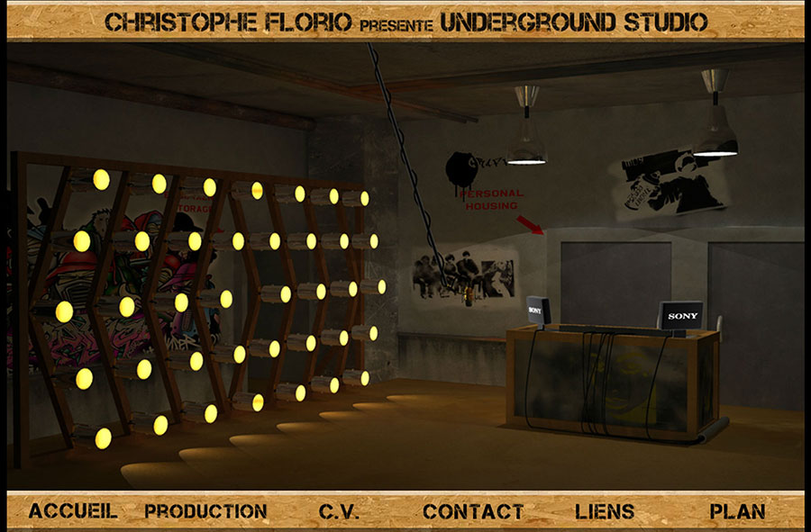 Underground Studio en Flash